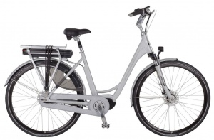 Puch E-Ambient 28 Inch Dames 7V Rollerbrakes Grijs