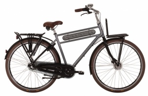 Puch Strong Plus 28 Inch Heren 3V Rollerbrakes Grijs