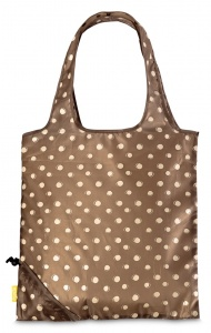 Punta shopper dots brown 3 liters