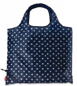 Punta shopper dots dark blue 3 liters
