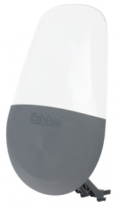 Qibbel windscherm Air Q880 junior grijs/transparant