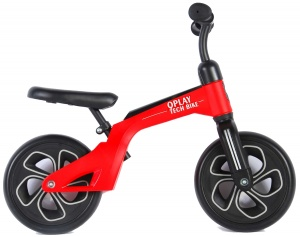 QPlay Balance Bike 10 pouces Junior Rouge