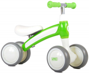 QPlay Cutey Ride On Junior Wit/Groen