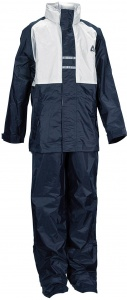 Ralka rainsuit junior blau / weiß