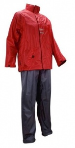 Ralka Regenanzug Senior Unisex Red / Grey