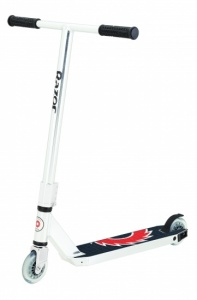 Razor step Ultra Pro 2014 Junior Voetrem Zilver/Wit