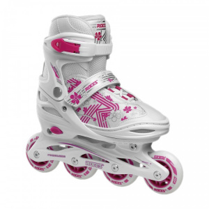 Roces Inline skates Roces Girls Jokey 3.0 wit/roze