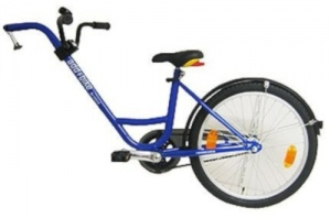 Roland Aanhangfiets Add+Bike 20 Inch Junior 3V Blauw