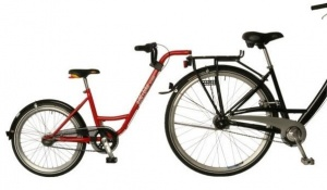 Roland Aanhangfiets Add+Bike 20 Inch Junior 7SP Red