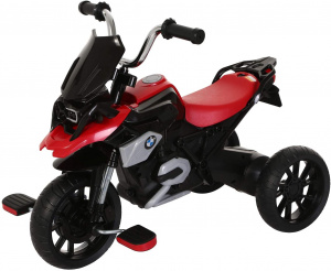Rollplay BMW R1200 GS motor Junior Noir/Rouge
