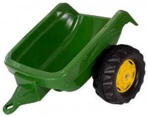 Rolly Toys Trailer RollyKid junior dark green