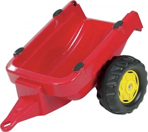 Rolly Toys Trailer RollyKid junior red