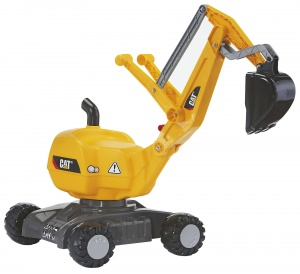 Rolly Toys graafmachine RollyDigger Cat junior geel