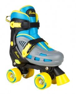 e8148cb0ac3 Rookie roller skates Duo junior blue / gray / black