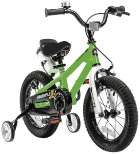 RoyalBaby Freestyle 14 Inch Jongens V-Brake Groen