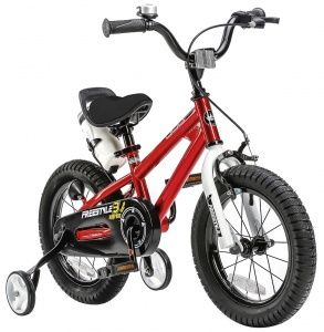 RoyalBaby Freestyle 16 Inch Jongens V-Brake Rood