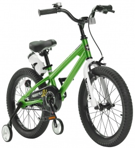 RoyalBaby Freestyle 18 Inch Jongens V-Brake Groen