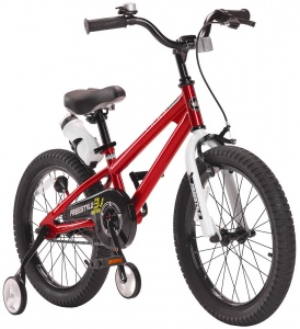 RoyalBaby Freestyle 18 Inch Jongens V-Brake Rood