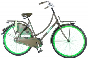 Salutoni Camouflage 28 Inch Woman Coaster Brake Army Green