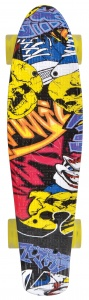 Schildkröt Funsports Retro skateboard Free spirit party 56 cm