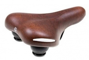 Selle Comfort unisex brown saddle