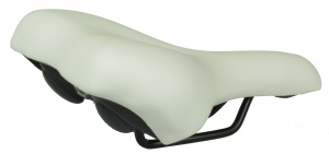 Selle Monte Grappa saddle Nevea 260 x 205 mm white