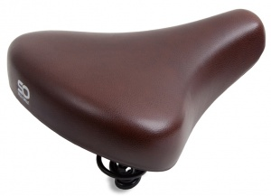 Selle Orient City Comfortunisex-Sattel 250 x 216 mm braun