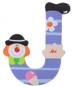 Sevi Buchstabe O Clown rot 10cm