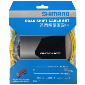 Shimano derailleur OT-SP41cable set race 1700 mm yellow 12-piece
