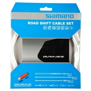 Shimano derailleur OT-SP41cable set race 1700 mm white 12-piece
