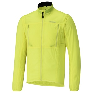 Shimano Hybridveste coupe-vent homme jaune