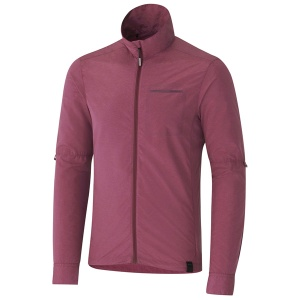 Shimano windbreakjack Transit heren bordeaux