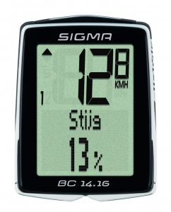 Sigma Bicycle computer BC 14.16 black