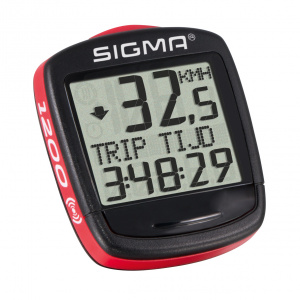 Sigma bicycle computer Bc Baseline 1200 Wl 30 x 30 mm black