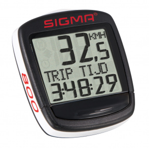 Sigma bicycle computer Bc Baseline 800 Wl 30 x 30 mm black