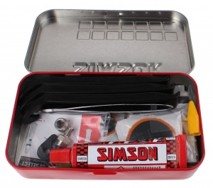 Simson Tire repair kit Select 23-piece