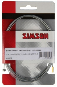 Simson Inner cable gear SA 2250 mm silver