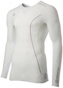 f0f44503d6 Skins Compression - Shirt Dynamic langärmelige Männer mt weiß XS