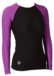 9b3dc9ed2b Skins Thermo Shirt A200 Women Long Black Lila