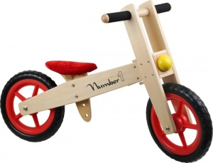 Small Foot Loopfiets Nummer 1 Junior Blank