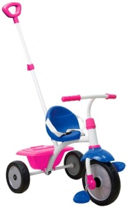 smarTrike Fun Fille Bleu/Rose