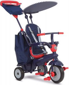 smarTrike Shine Star 4-in-1 Junior Bleu/Rouge