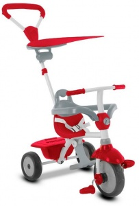 smarTrike Zip Junior Rouge/Gris