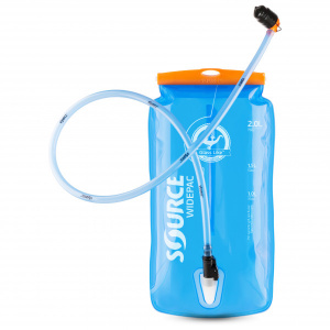 Source waterzak Widepac LP 2 liter polyetheen blauw
