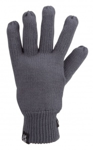 Starling Knitted gloves unisex grey
