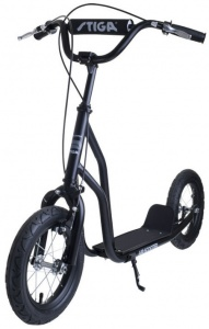 Stiga Air Scooter 12 Inch Junior Knijprem Zwart