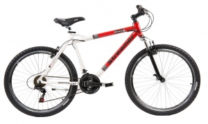 Streamer mountainbike 26 Inch 53 cm Heren 18V V-Brake Rood