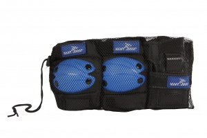 Street Runner skate protection set blue 6-piece