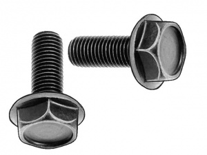 SunRace crank bolt set M8 2 pieces black