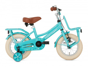 Supersuper Cooper 12 Inch 21,5 cm Girls Coaster Brake Turquoise